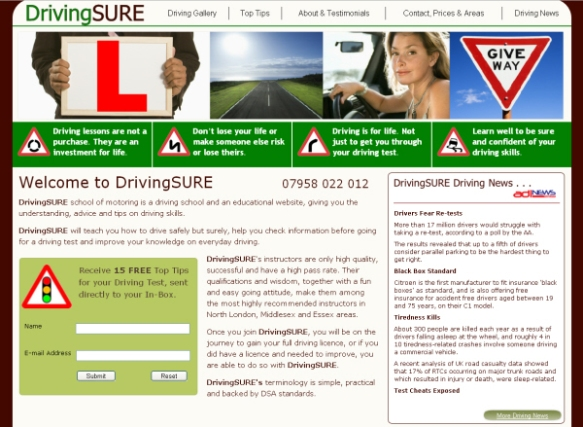 DrivingSure driving school in woodford green